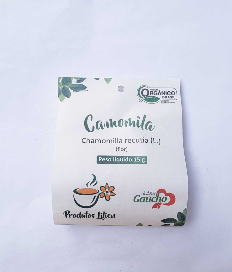 Chá de Camomila Orgânico
