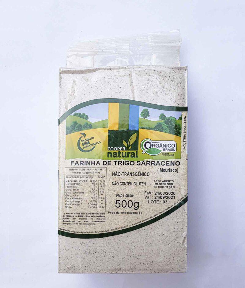 farinha de trigo sarraceno