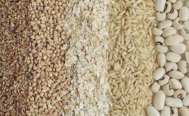Grãos, Cereais e Farinhas