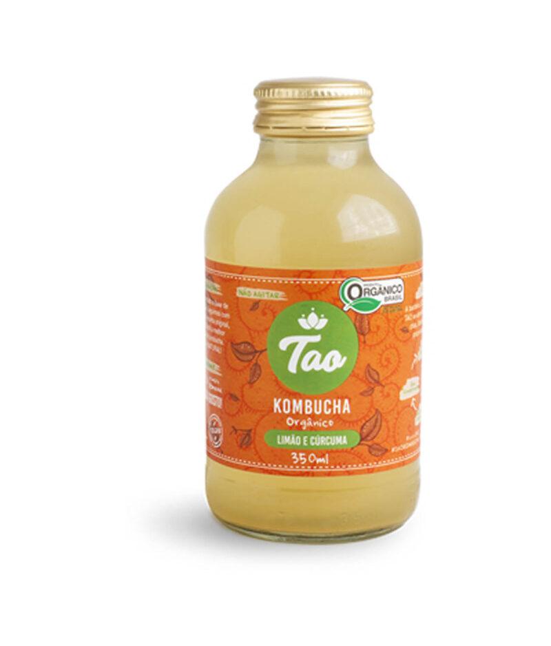 Kombucha Limão e Cúrcuma Orgânica