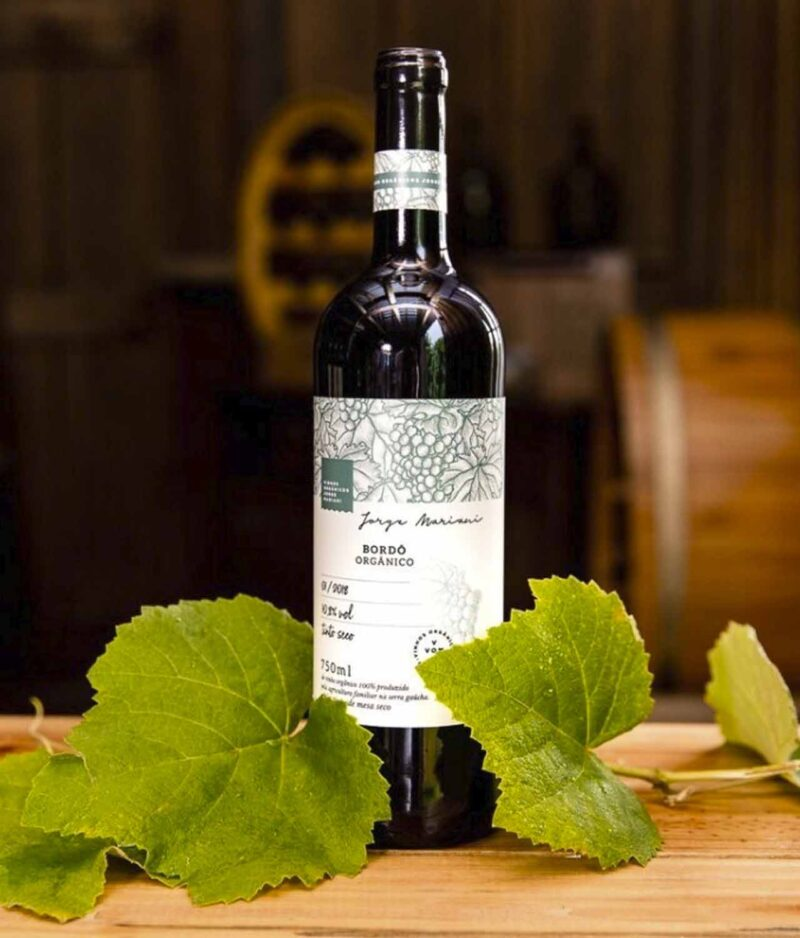 Vinho Bordô Orgânico