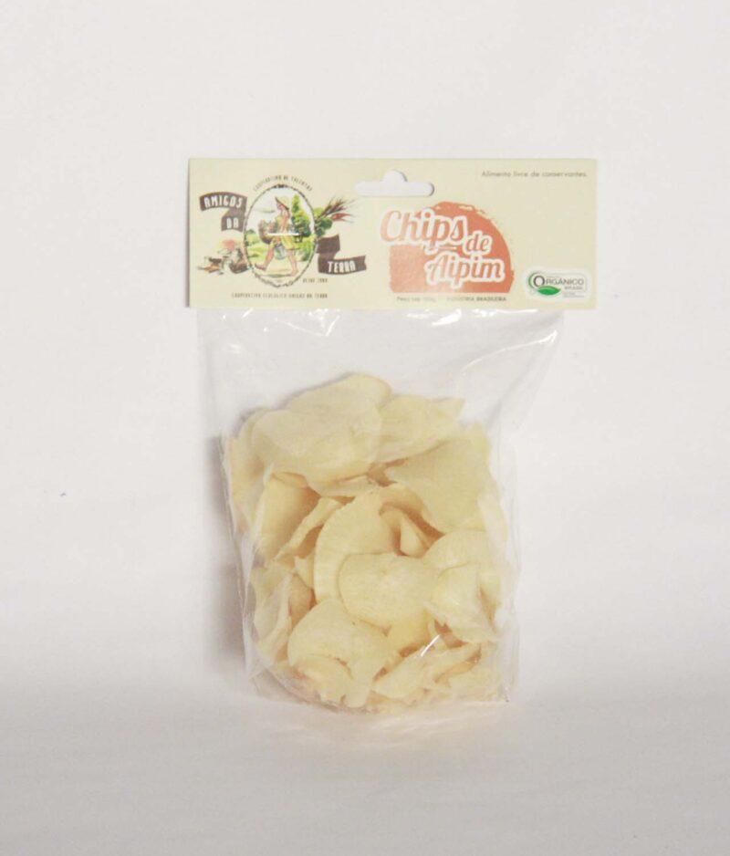Chips de Aipim Orgânico