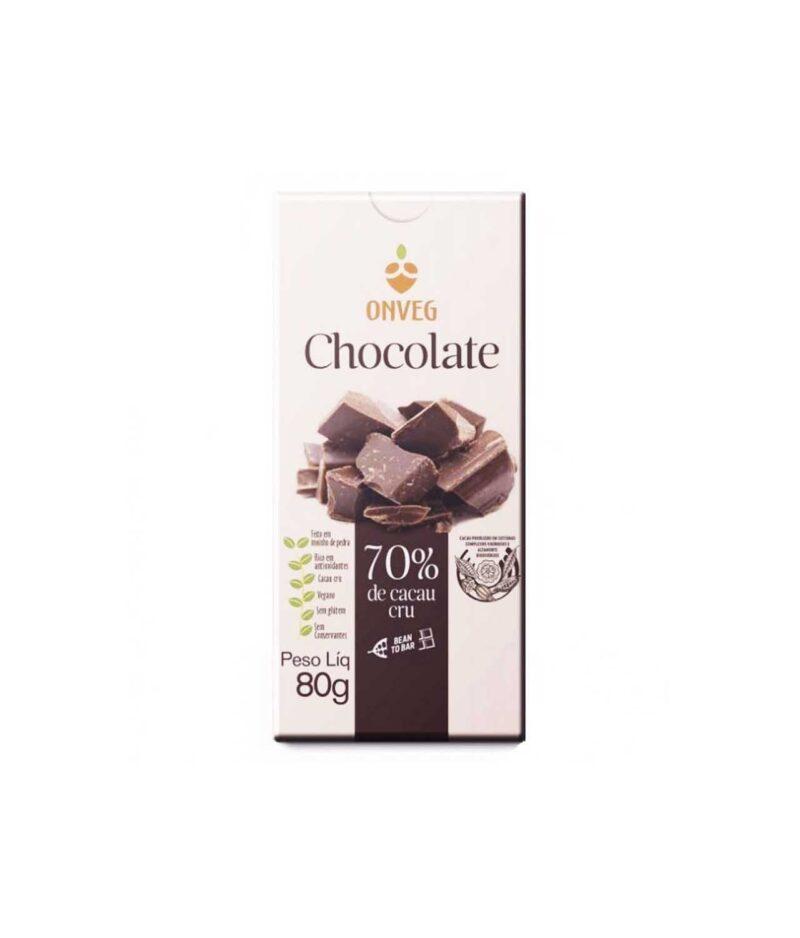 Chocolate 70% de Cacau Cru Orgânico