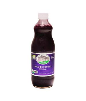 suco de mirtilo orgânico