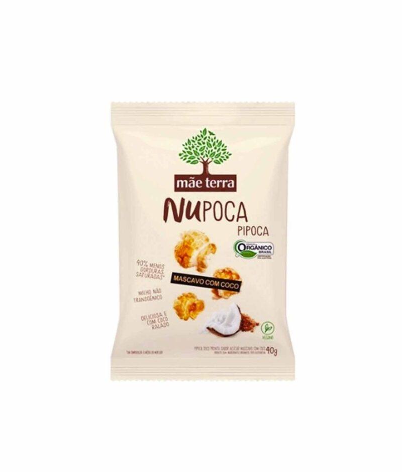 NuPoca de Mascavo com Coco Orgânica