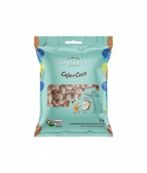 Castanhas de Caju com Coco Orgânicas