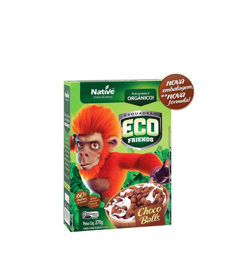 Cereal Eco Friends Choco Balls Orgânico