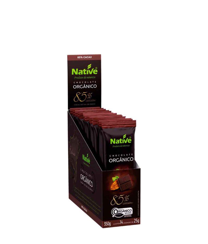 Chocolate 85% Cacau Orgânico