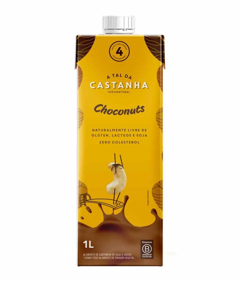 Choconuts de Castanha de Caju e Cacau Orgânico