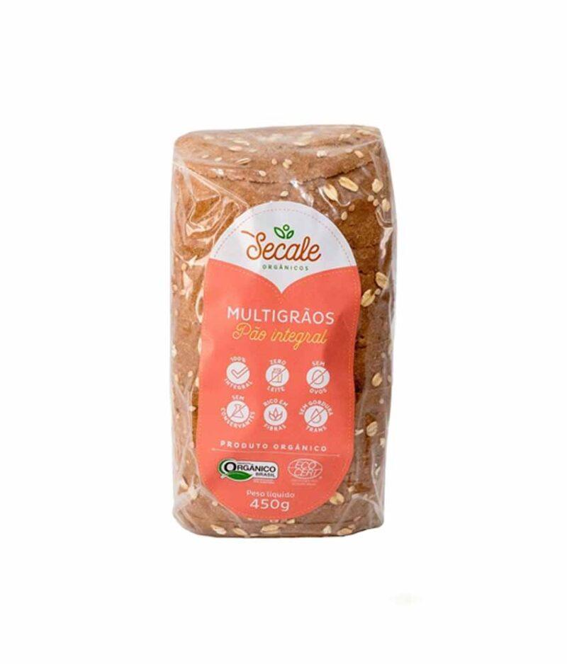 Pão Integral Multigrãos Orgânico