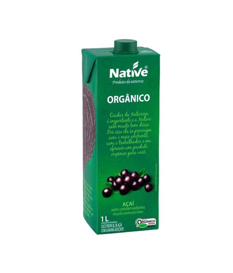 Suco Tropical de Açaí com Guaraná Orgânico