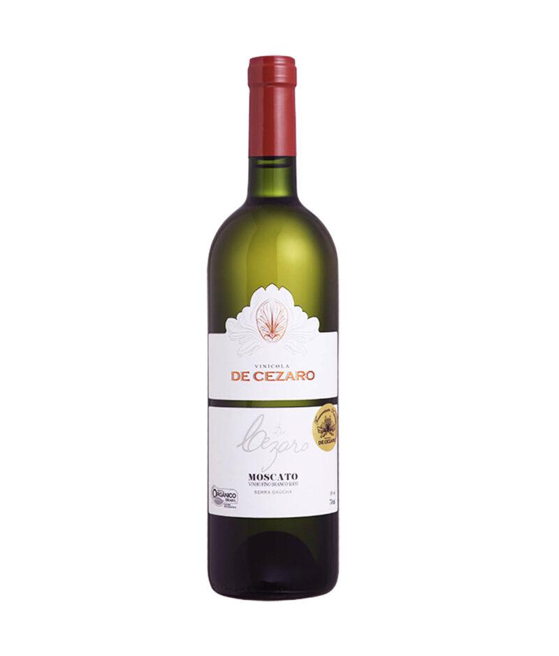 Vinho Fino Branco Moscato Seco Orgânico