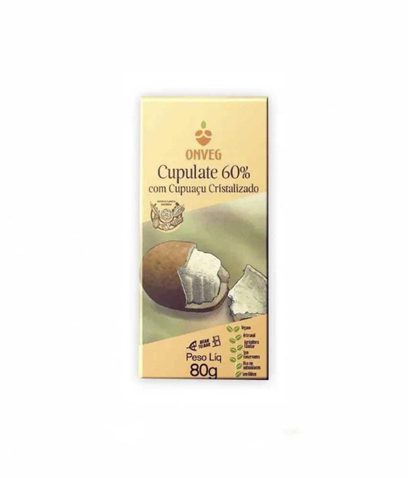 Chocolate de Cupuaçu Cristalizado Orgânico