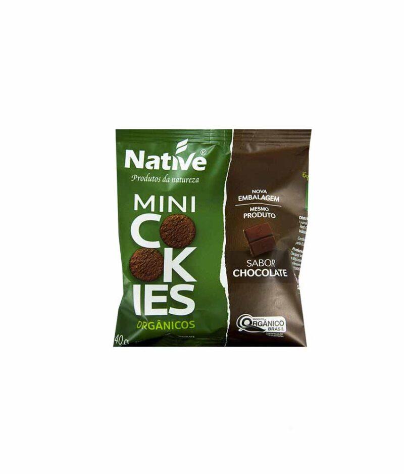 Mini Cookies Chocolate Orgânico