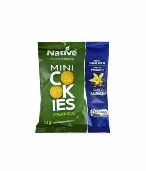 Mini Cookies Baunilha Orgânico