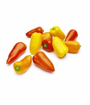 mini-pimentões orgânicos