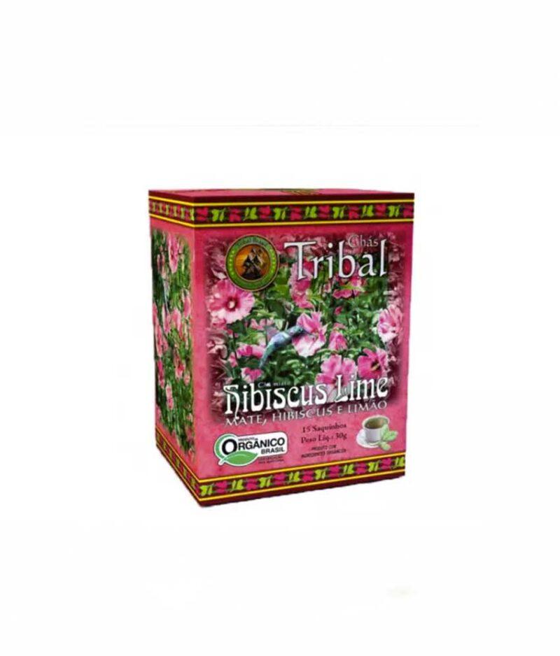 Chá Hibisco e Limão Orgânico