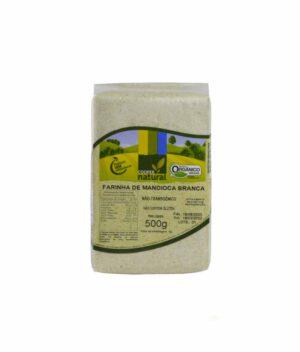 Farinha de Mandioca Branca Orgânica