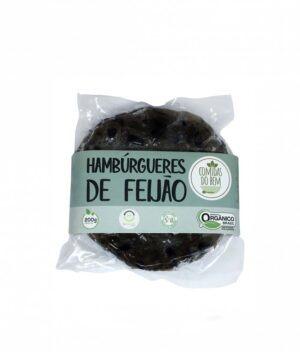 Hambúrguer de Feijão Preto Orgânico