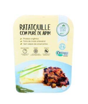 Ratatouille com Purê de Aipim Orgânico